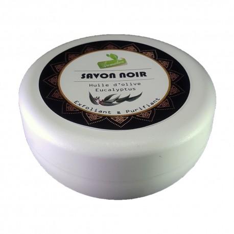 Savon Noir Huile D'olive & Eucalyptus -150Gr