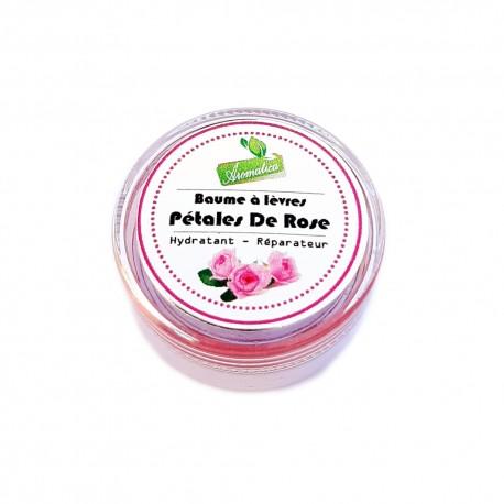 Baume à Lèvre Pétales De Rose 8 Gr